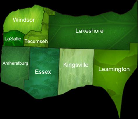Royal lePage Binder - Windosr, LaSalle, Amherstburg, Essex, Tecumseh, Lakeshore, Kingsville and Leamington community map
