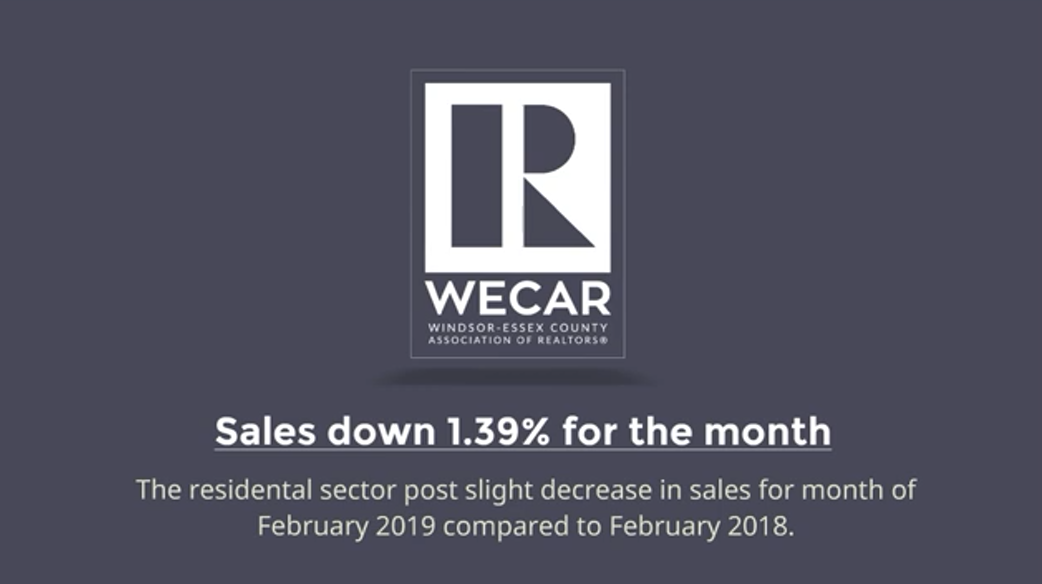 WECAR  February 2019  Market Update