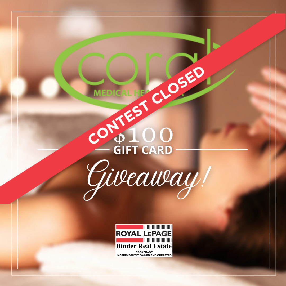 Coral Spa $100 Gift Card Giveaway