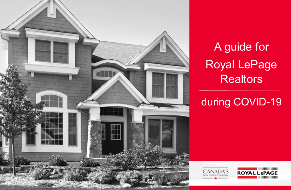 COVID-19 - A Guide for Royal LePage Realtors