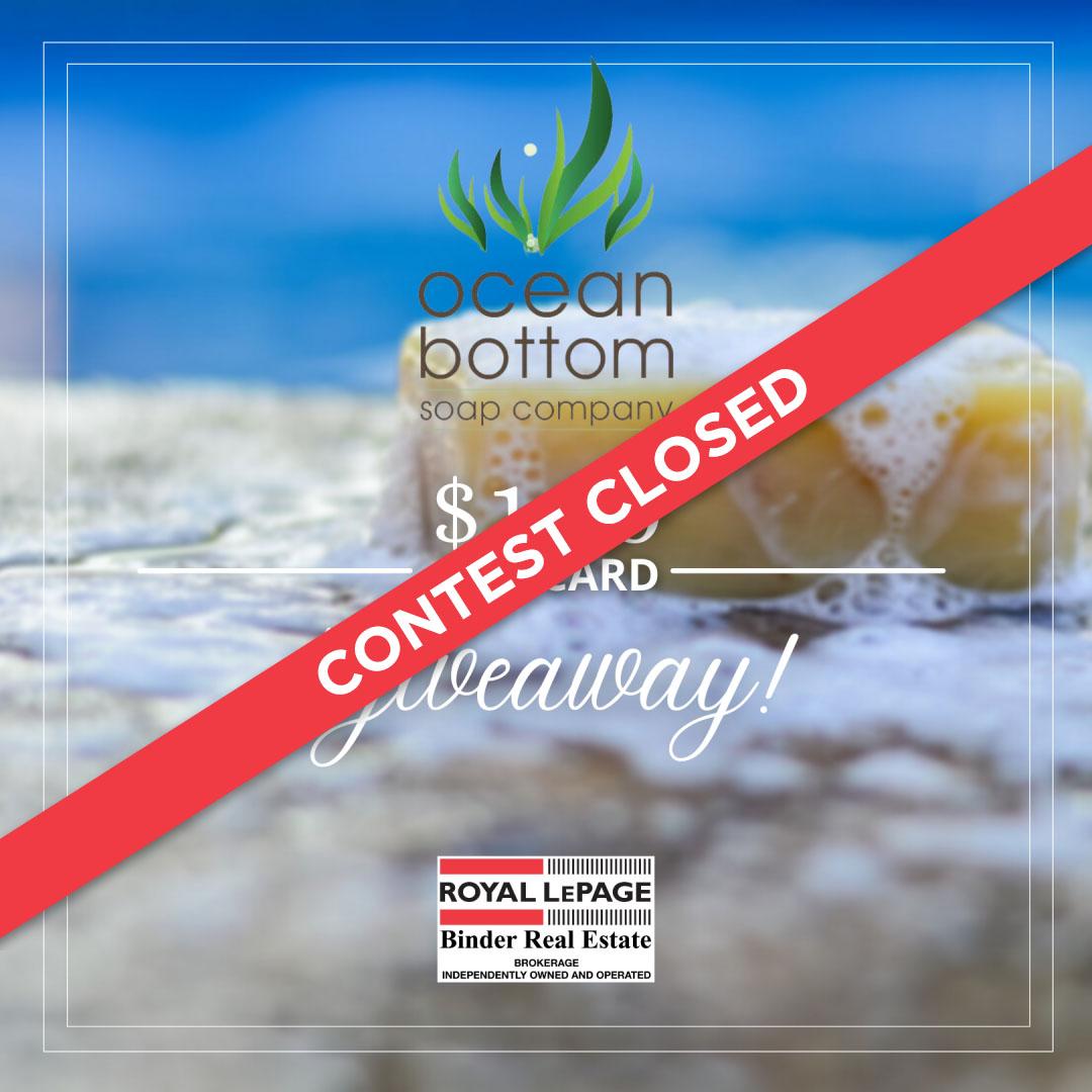 Ocean Bottom Soap- $100 Gift Card Giveaway