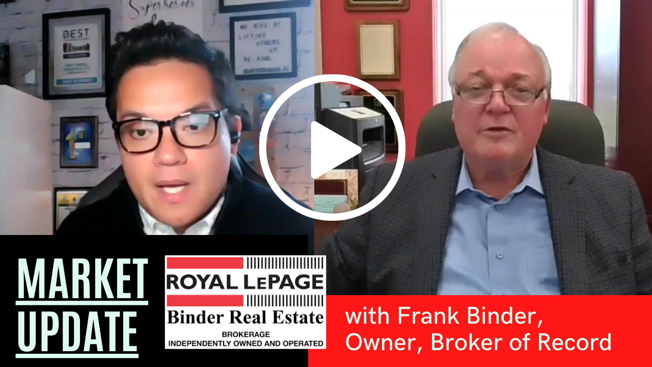LIVE Stream - April 2021 Market Update W/ Frank Binder