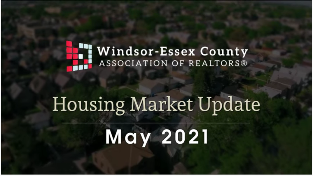 WECAR MAY 2021 RESIDENTIAL MARKET UPDATE