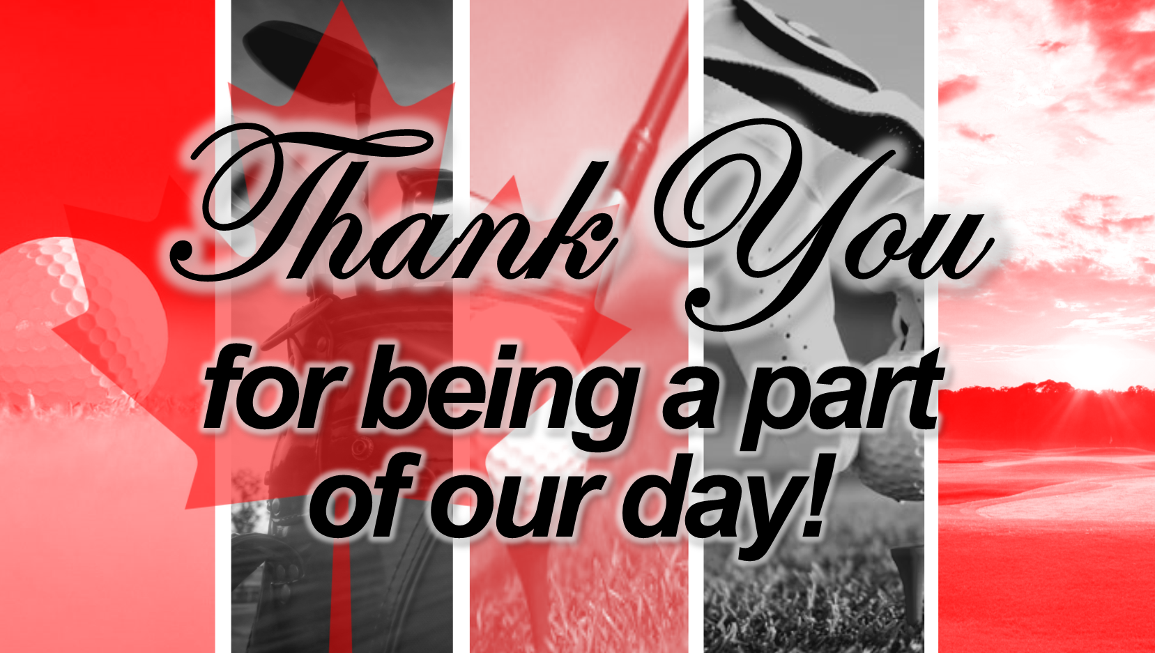 THANK YOU for Making the RLB Golf Tournament a Success!
