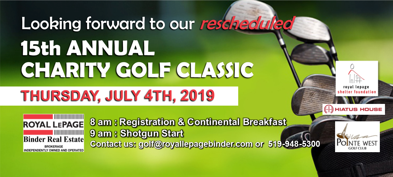 15th Annual Royal LePage Binder Charity Golf Classic