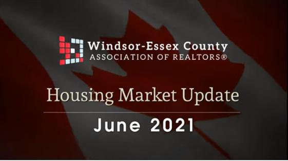 WECAR JUNE 2021 RESIDENTIAL MARKET UPDATE