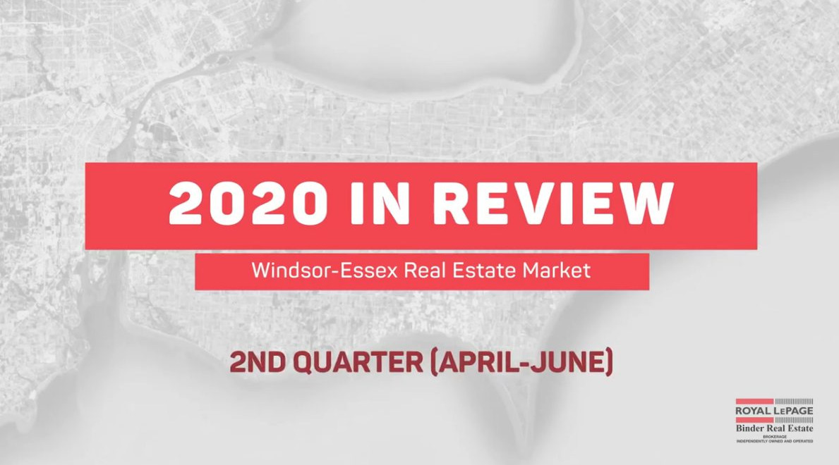 Q2 2020 Real Estate Statistics for Windsor-Essex