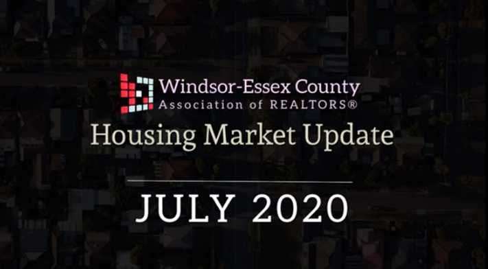 WECAR JULY 2020 RESIDENTIAL MARKET UPDATE
