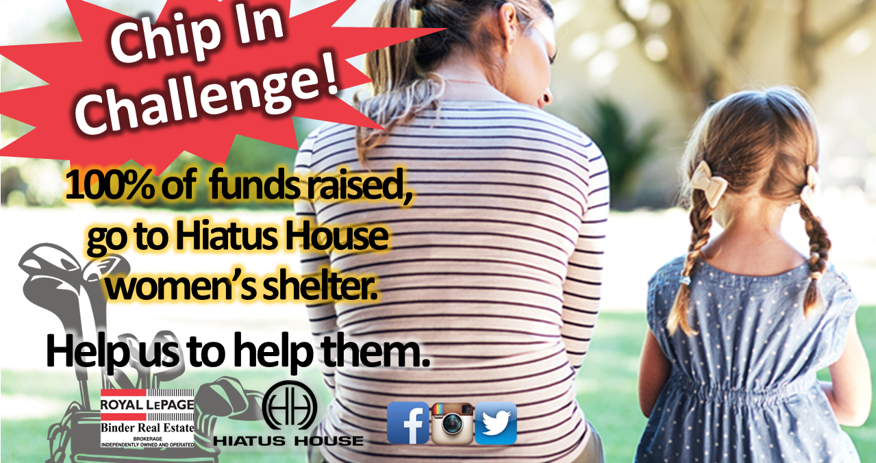 Chip In Challenge for Hiatus House