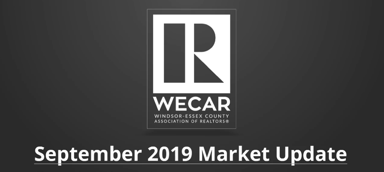 WECAR September 2019 Residential Market Update