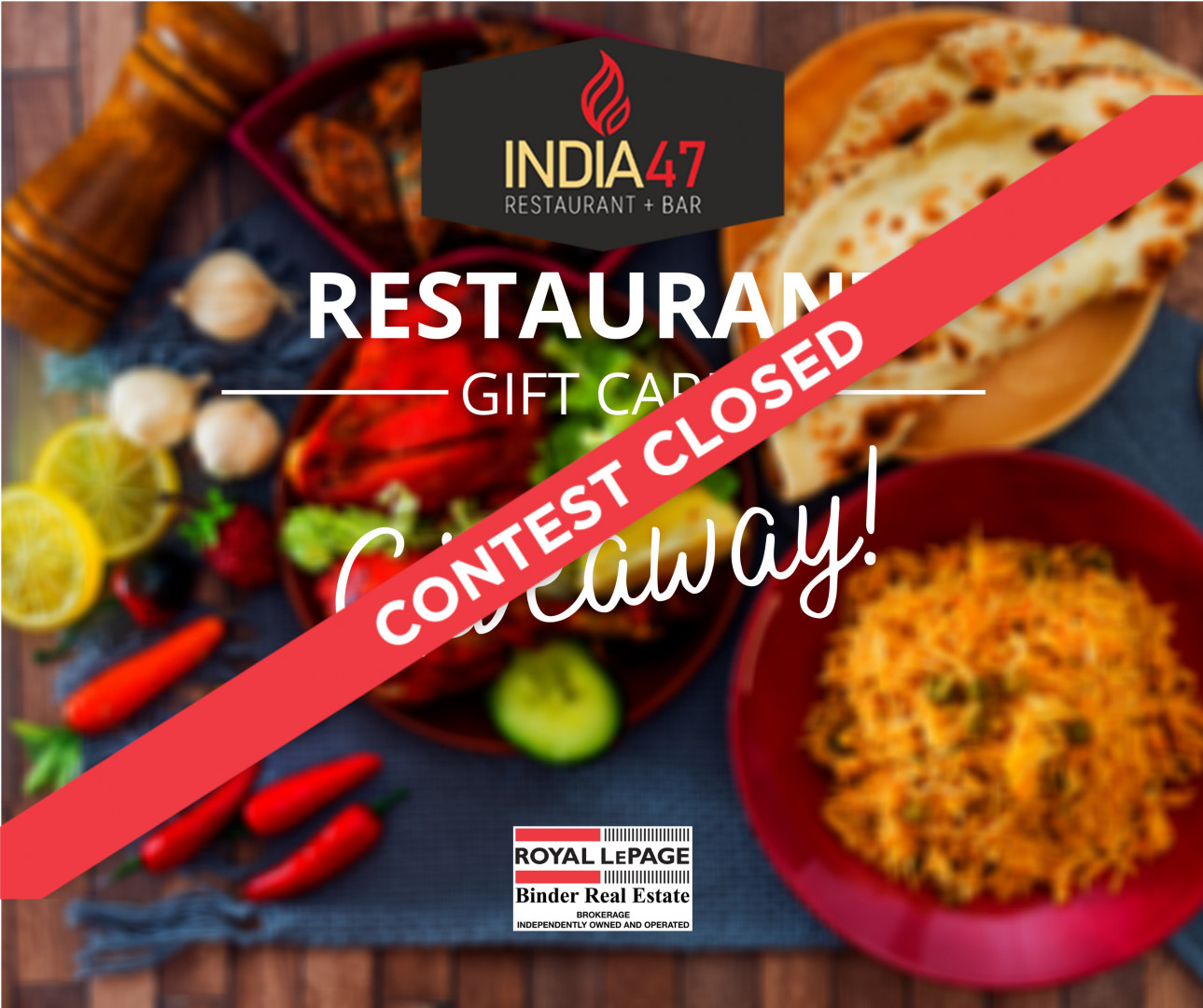$100 Gift-card Giveaway to  India 47- Contest Rules