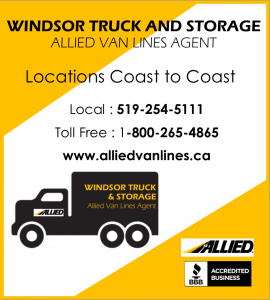 WINDSOR TRUCK AND STORAGE