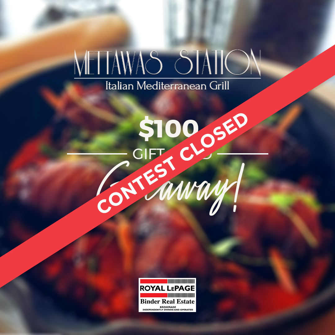 $100 Mettawa's Gift Card Giveaway, Enter HERE!