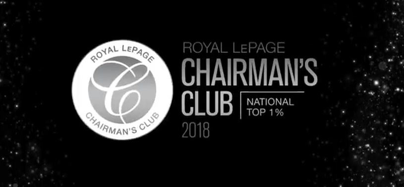 Royal LePage 2018 National Chairman's Club Announcement